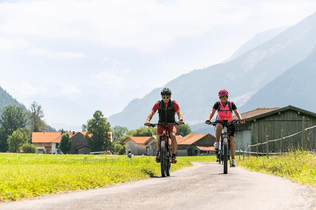 Radfahren in Pfronten - @ Autor: Simon Toplak - © Quelle: Pfronten Tourismus