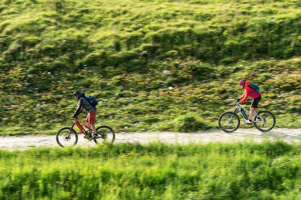 Mit dem E-Bike durchs Voralpenland - @ Autor: Simon Toplak - © Quelle: Pfronten Tourismus
