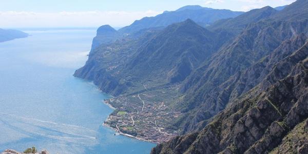 Limone und Monte Castello von der Punta di Larici aus gesehen
