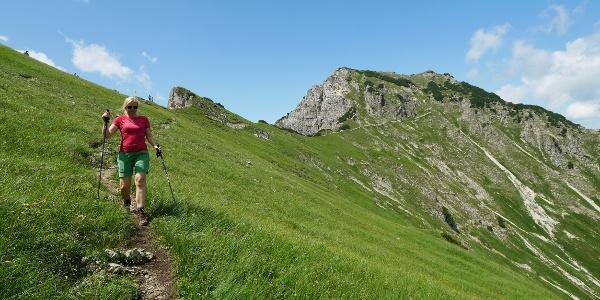 Bergtour im Tannheimer Tal: Über den Bschießer