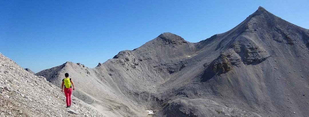 Ein Karwendel-Highlight - der Toni-Gaugg-Höhenweg - bearbeitet für Content-Slider