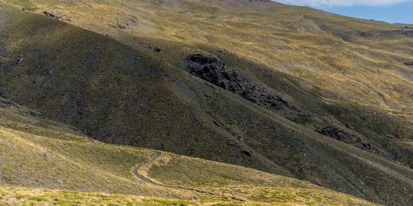 Starkly-Beautiful Mountain Slopes