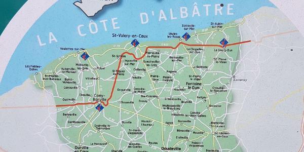 Die Küste der Cote D`Albatre