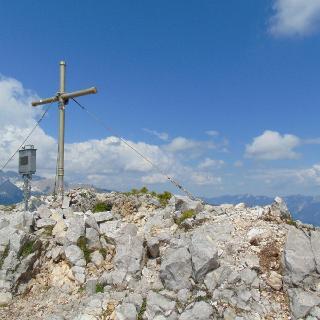 Gipfelkreuz des Lahnerkogels