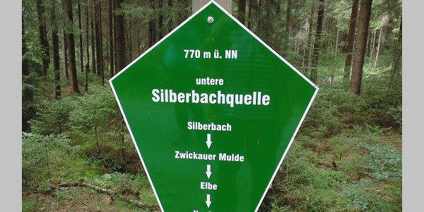 Silberbachquelle Grünbach Vogtland OT Muldenberg
