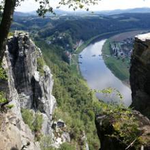 Aussicht von der Bastei