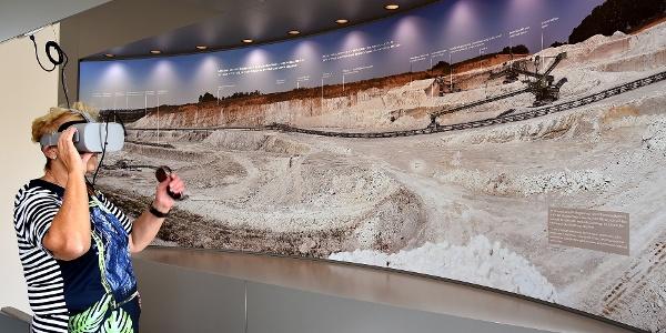Multimediale Ausstellung im Geoportal Erlebniswelt Kaolin