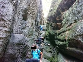 Foto Abenteuerlicher Abstieg in der Riegelhofstiege