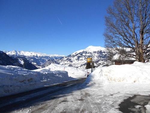Schneeschuhtour Vorderstels