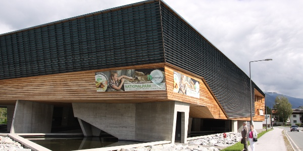 Das Nationalparkzentrum des Nationalparks Hohe Tauern.