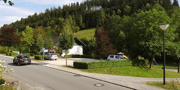 Wanderparkplatz  in Latrop
