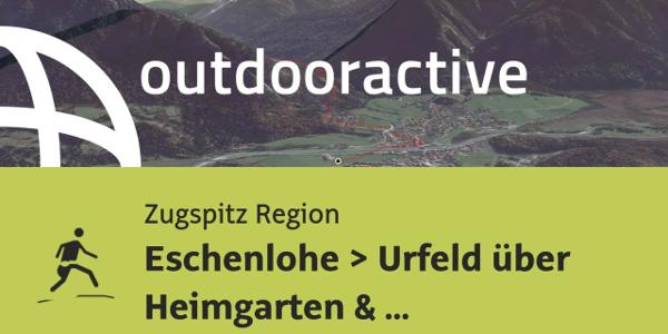 Trailrunning-Strecke in der Zugspitz Region: Eschenlohe ▶ Urfeld über Heimgarten & Herzogstand