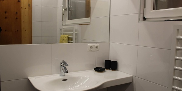 Badezimmer Appartment Versettla