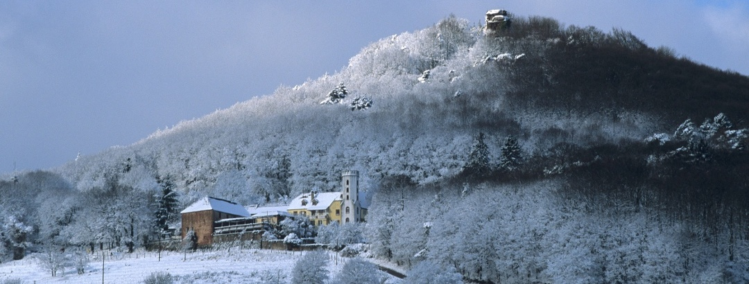 Slevogthof im Winter