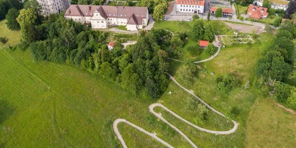 Serpentinenweg am Hohen Schloss - Naturerlebnisweg