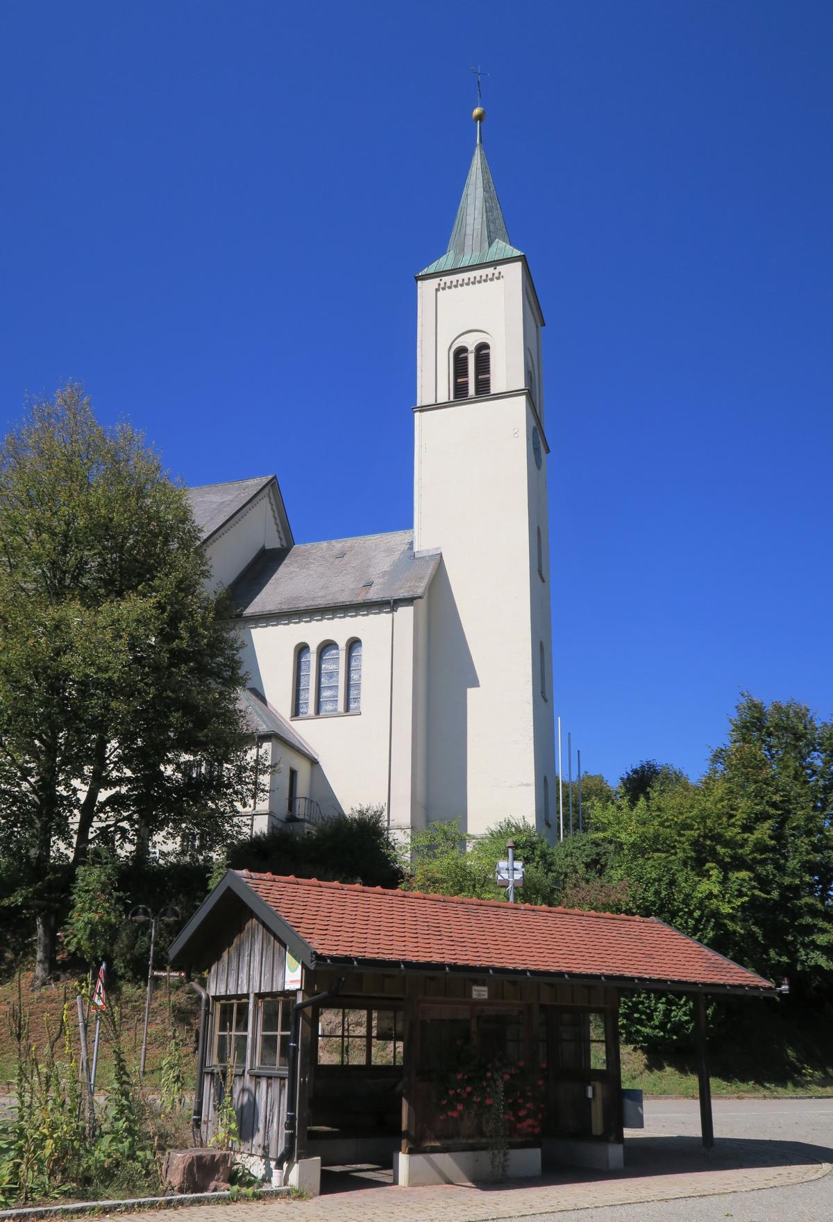 Unsere Tour startet am Busbahnhof in Rickenbach.
