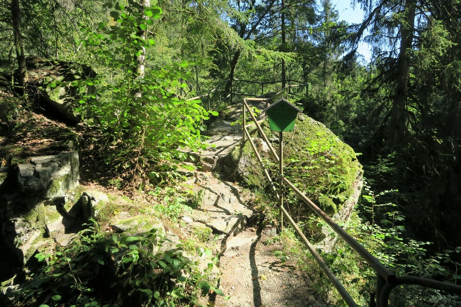 Rickenbach: Ins wildromatische Tal der Hauensteiner Murg