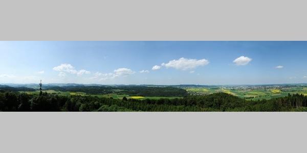 Panorama vom Georg-Viktor-Turm
