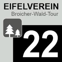 Wegelogo Broicher-Wald-Tour