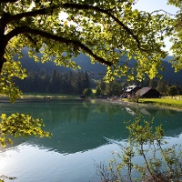 Am Jägersee im Kleinarler Tal