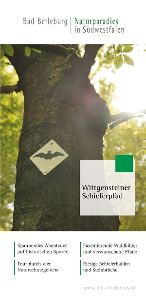 Wittgensteiner Schieferpfad Flyer