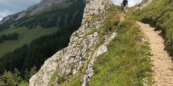 Aufstieg Richtung Veitsch
