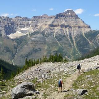 Ausblick am Ende des Trails.