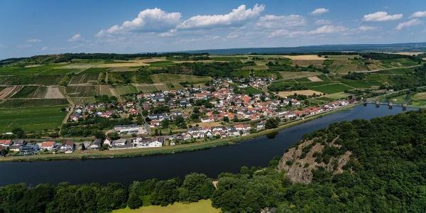 Blick auf Niederhausen
