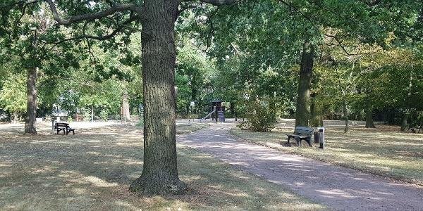 Stadtpark Strehla mit Spielplatz