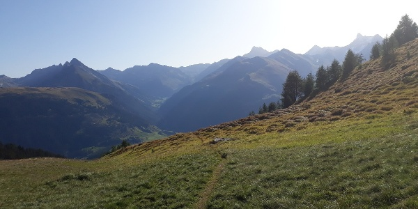 Blick Richtung Val Tuors