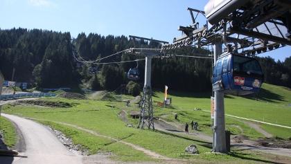 Asitzbahn im Sommer.