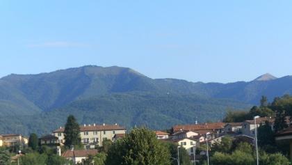 Monte Bolettone (und Palanzone rechts dahinter) von Albavilla