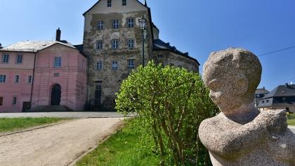 Schloss Mühltroff - Ansicht von Osten