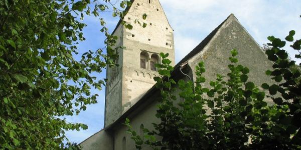 Auf der Insel Ufenau befinden sich zwei mittelalterliche Kirchen.