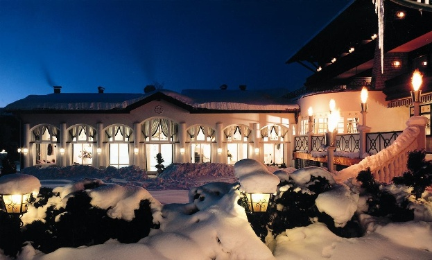 Hotel Moisl im Winter