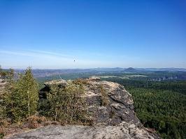 Foto Aussicht vom Großen Zschirnstein
