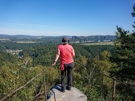 Foto Aussichtsstelle auf dem Kohlbornstein