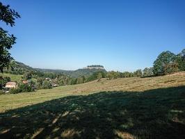Foto Aussicht auf dem Weg zum Pfaffenstein