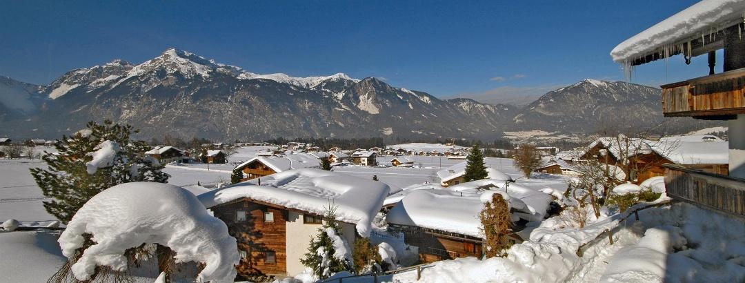 Winter Ausblick Reither Almen Reith i.A.