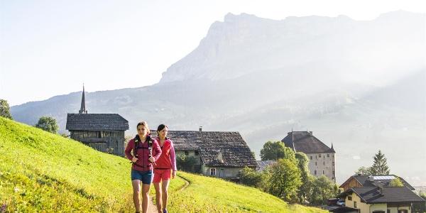 Wanderung La Villa - Viles - Corvara