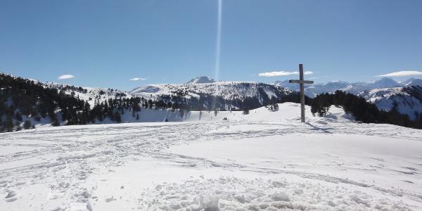 Kreuz Schneeschuhtour Seewenseeli
