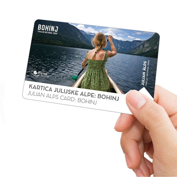 The Julian Alps Card: Bohinj