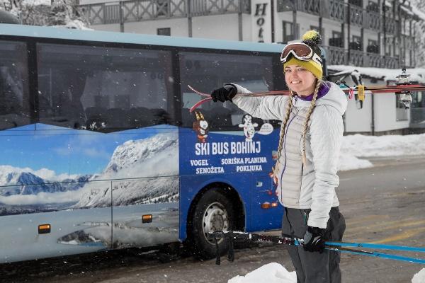 Ski bus service
