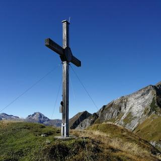 Großer Bärenstaffl 2.125m - Blick zur Steinfeldspitze