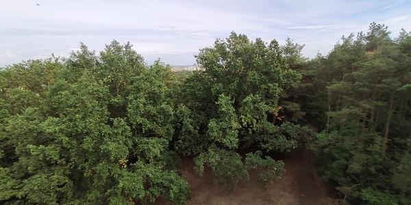 Kilátás Szombathely középső részére