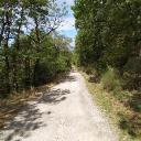 Schöne breite Wanderwege