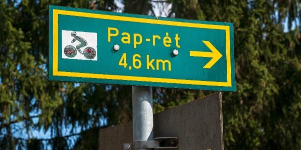 A környéken minden út Pap-rétre vezet