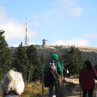Blick zum Brocken (September 2012)