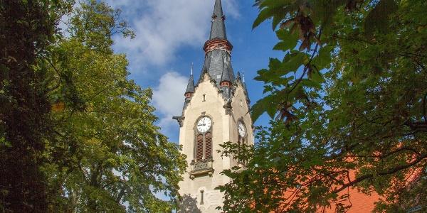 Auferstehungskirche Dresden-Plauen (Kilometer 0,3)