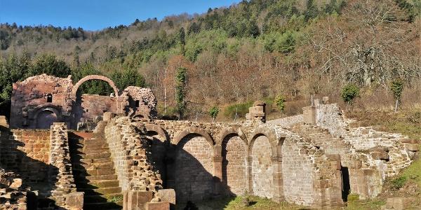 Ruines de l'Abbaye de  Niedermunster
